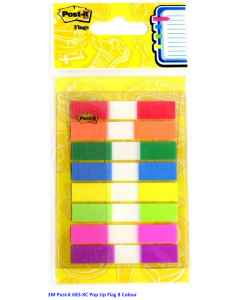 Jual 3M Post-it 683-8C Pop Up Flag 8 Colour Harga Murah dan Lengkap