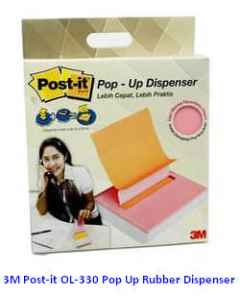 Jual 3M Post-it OL-330 Pop Up Rubber Dispenser Harga Murah dan Lengkap